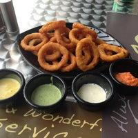 Photo taken at Burger house by Hessa Al Khalifa on 3/30/2013