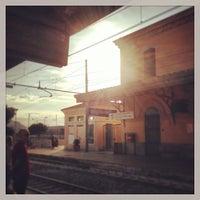 Photo taken at Stazione FS Bagheria by Mio Caro B. on 10/4/2013