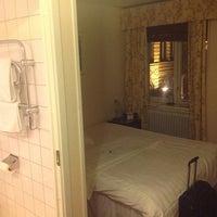 Photo taken at Hotell Blå Blom by Anton K. on 11/20/2012