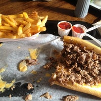 Photo taken at Abner's Cheesesteaks by Dave M. on 11/10/2012
