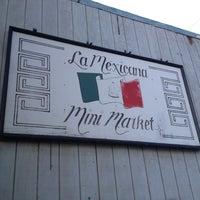Photo taken at La Mexicana Mini Market LLC by Liam on 10/20/2012