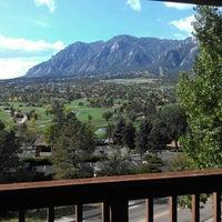 Photo taken at Cheyenne Mountain Resort by Ellen R. on 9/30/2012