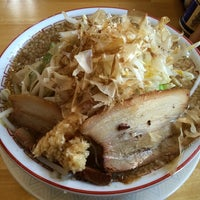 Photo taken at ラーメン泪橋 by Hirohito O. on 4/16/2014