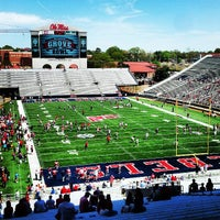 Photo taken at Vaught-Hemingway Stadium by Jason A. on 4/13/2013