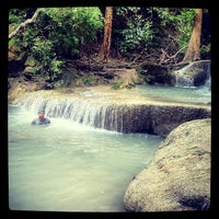 Photo taken at Erawan National Park by Chalermchatri Y. on 7/23/2013