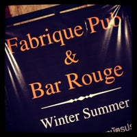 Photo taken at FabriQue & Bar Rouge (แฟบบริค) by Chalermchatri Y. on 1/23/2014