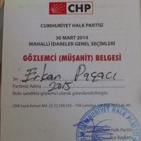 Photo taken at Birlik İlkokulu-Ortaokulu Müdürlüğü by Erkan P. on 3/30/2014