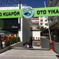 Photo taken at Paspas oto yıkama oto kuaför by fatih e. on 10/3/2014