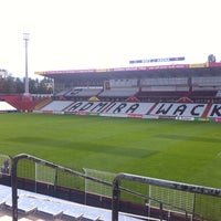 Photo taken at BSFZ Arena - Südstadt Stadion - Trenkwalder Arena by Jan H. on 8/31/2013