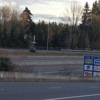 Photo taken at Sound Transit Bus Stop #71335 by Eline on 2/2/2013
