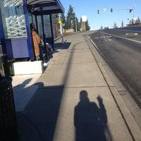 Photo taken at Sound Transit Bus Stop #71335 by Eline on 1/12/2013
