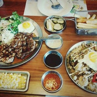 Photo taken at seoga & cook by MyungJin L. on 7/11/2015