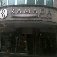 Photo taken at Ramada Plaza İstanbul City Center by Erdem ;. on 11/3/2012