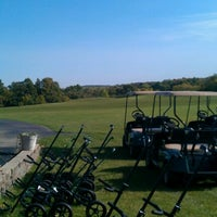 Photo taken at New Berlin Hills Golf Course by Michael H. on 9/25/2012