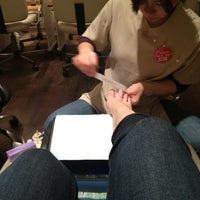 Photo taken at Ada Nails and Spa by Danielle on 1/14/2013