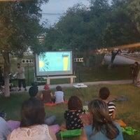 Photo taken at Parque Hundido by Bibiana C. on 5/29/2016