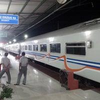 Photo taken at Stasiun Rantauprapat by Fadly R. on 5/23/2015