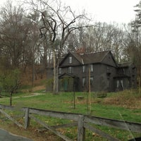 Photo taken at Louisa May Alcott's Orchard House by Nicole S. on 4/24/2013