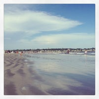 Photo taken at First Beach by Iliana M. on 7/7/2013