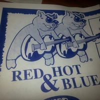 Photo taken at Red Hot & Blue  -  Barbecue, Burgers & Blues by Angela E. on 9/20/2013