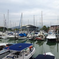 Photo taken at Royal Phuket Marina by ⚡Ksenia⚡ on 1/3/2013