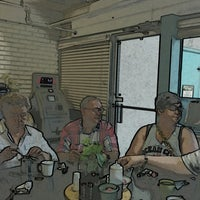 Photo taken at Satellite Coffee Shop by Josh R. on 7/18/2013