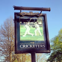 Photo taken at The Cricketers by Huw J. on 4/18/2014