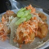 Photo taken at Taco Fish La Paz by Cesar Erkamp セ. on 11/26/2012