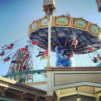 Photo taken at Silly Symphony Swings by Lew R. on 11/12/2012