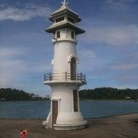 Photo taken at Bang Bao Lighthouse by Роман М. on 10/24/2012