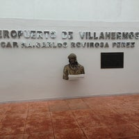 Photo taken at Aeropuerto Internacional de Villahermosa C.P.A. Carlos Rovirosa Pérez (VSA) by Marimar on 3/1/2013