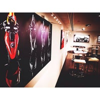 Photo taken at Ducati Caffe by Alya on 12/1/2013