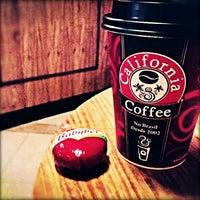 Photo taken at California Coffee by Cristiane on 1/2/2013