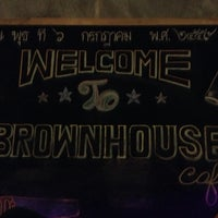 Photo taken at Brown House Coffee&Resturant by Siripuk M. on 9/25/2016