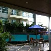 Photo taken at Grand Swiss-Belhotel by Rahmi on 11/4/2012