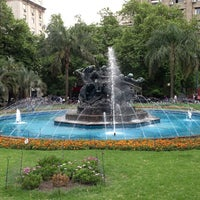 Photo taken at Plaza Fabini by Andres D. on 1/12/2013