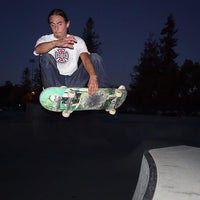 Photo taken at Sunnyvale Skate Park by Rich on 10/7/2015