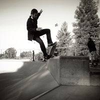 Photo taken at Sunnyvale Skate Park by Rich on 12/31/2012