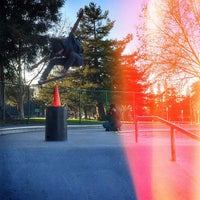 Photo taken at Sunnyvale Skate Park by Rich on 3/5/2015