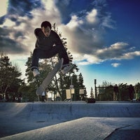 Photo taken at Sunnyvale Skate Park by Rich on 12/30/2012