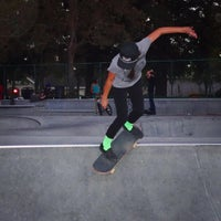 Photo taken at Sunnyvale Skate Park by Rich on 10/6/2015