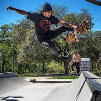 Photo taken at House Park Skatepark by Rich on 4/17/2015