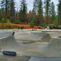 Photo taken at Grass Valley Skate Park by Rich on 12/8/2015