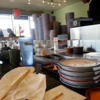 Photo taken at Go Fish Go Sushi by Annie S. on 4/2/2014