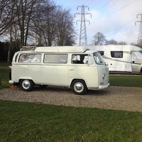 Photo taken at Canterbury Camping and Caravanning Club Site by Karen on 3/11/2014