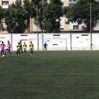 Photo taken at Olimpica Victoriana Club de Futbol by Maite F. on 10/12/2013