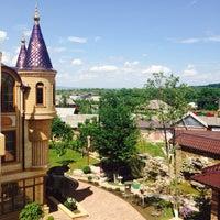 Photo taken at Сержень-Юрт by Leka on 6/10/2014