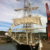 Foto tomada en Museo Marítimo Ría de Bilbao por Sergio R. el 11/2/2012