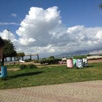 Photo taken at Bahçe Cafe by Elif on 3/28/2013