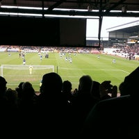 Photo taken at Vale Park by Michael W. on 3/8/2014